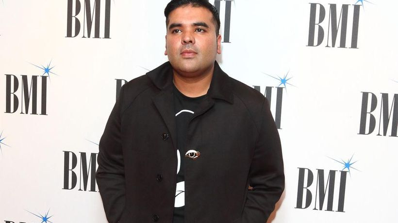 Naughty Boy helps Simon Cowell on X Factor: The Band