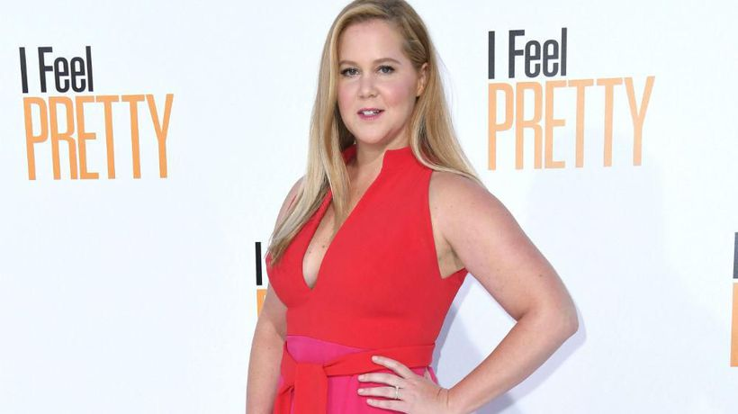 Amy Schumer's ex-boyfriend is living with her