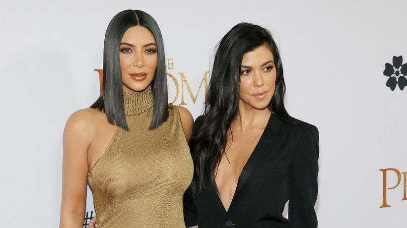 Kim Kardashian West gets into physical fight with sister Kourtney over worth ethic