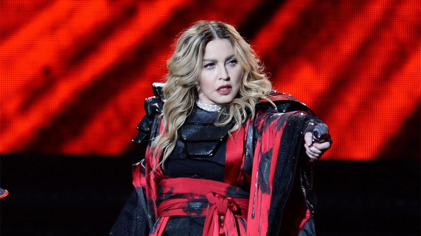 Madonna pays tribute to Mark Blum