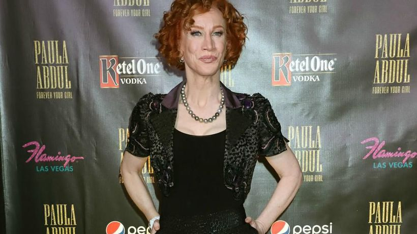 Kathy Griffin is back home after being admitted to a coronavirus isolation ward