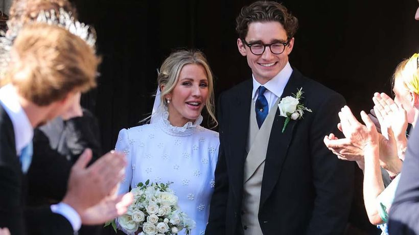Ellie Goulding enjoys living apart from husband Caspar Jopling.