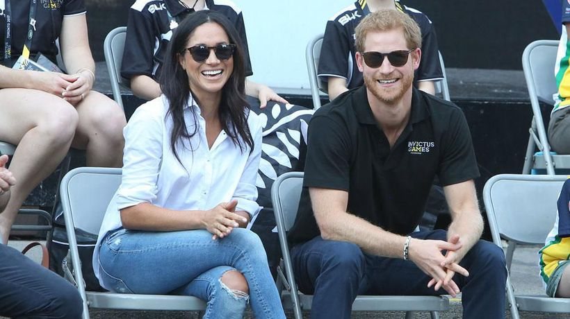 Prince Harry 'almost froze' when he saw Meghan for the first time