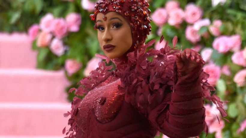 Cardi B has compared fame to her former career as a stripper