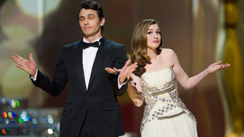 James Franco 'told Anne Hathaway to not tell him how to be funny' during 2011 Oscars rehearsals