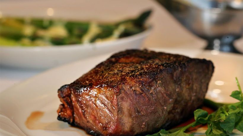 Steak is the best food to get couples frisky