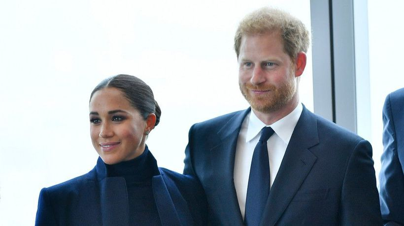 Prince Harry and Duchess Meghan make first New York engagement