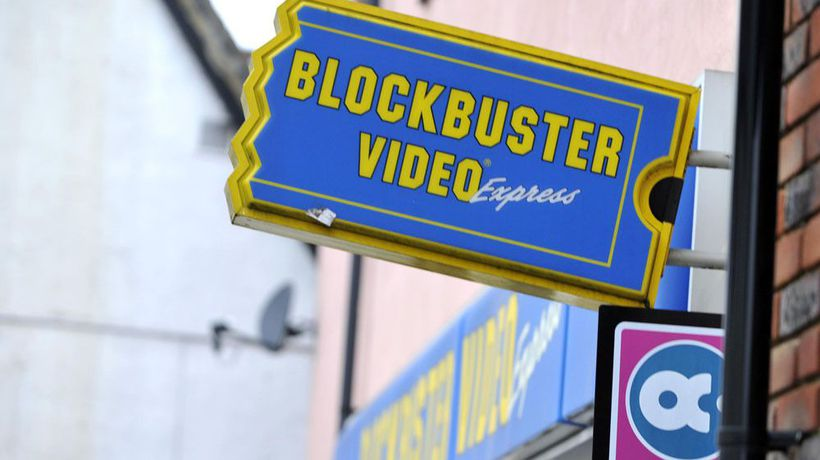 Man creates own personal Blockbuster video collection