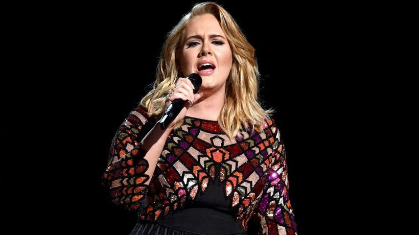 Adele owns a piece of Celine Dion's used chewing gum