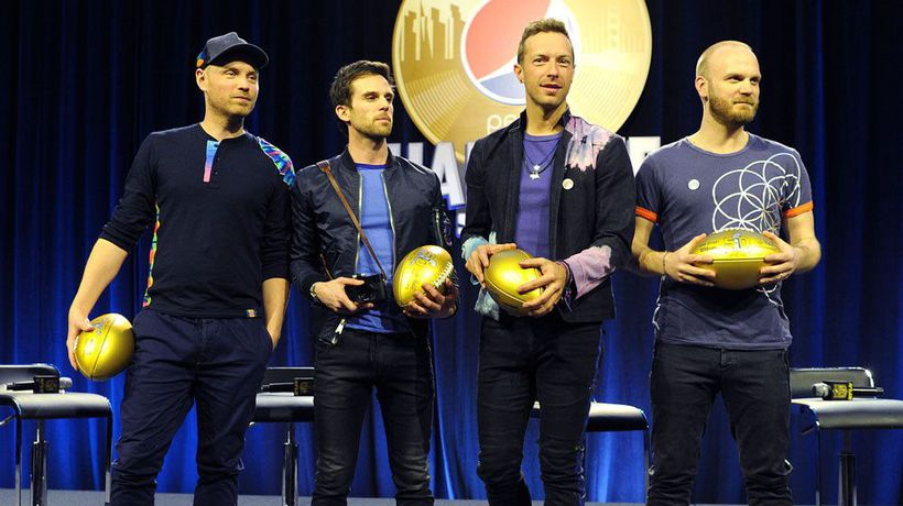 Coldplay score ninth consecutive Official UK Albums Chart number one