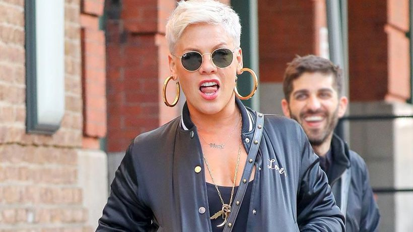 Pink 'auditioned' for her manager at the Brits