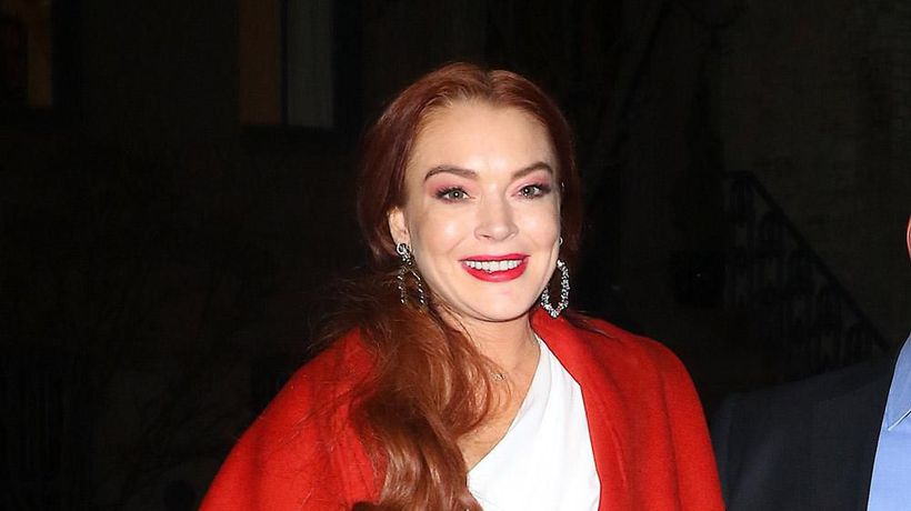 Lindsay Lohan's 'challenge' being in front of camera again