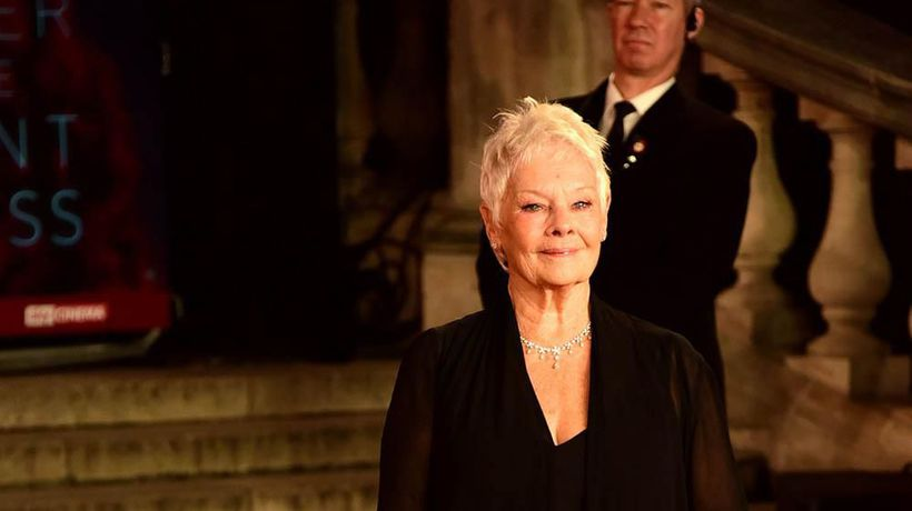 Dame Judi Dench won't watch herself on screen