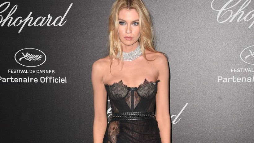 Stella Maxwell religiously 'drinks water' to avoid detox