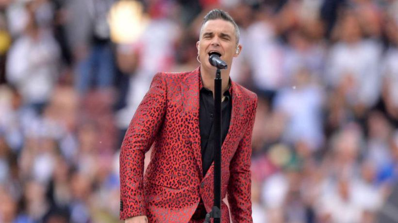 Robbie Williams wants to record another swing album after Las Vegas residency