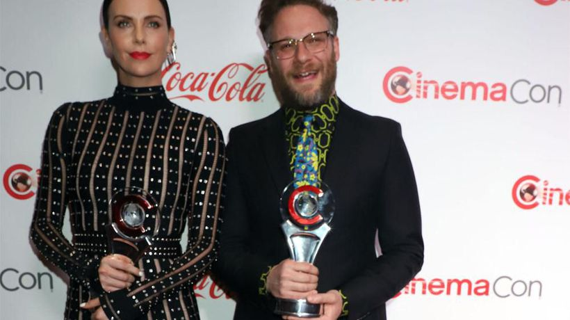 Charlize Theron 'blessed' to work with Seth Rogen