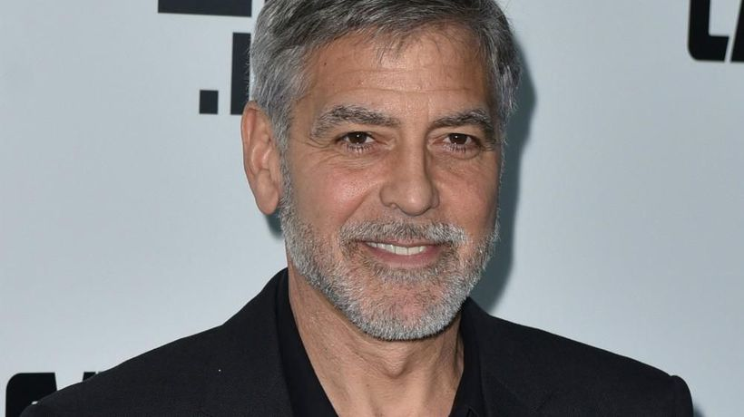 George Clooney thought he'd snapped neck during crash