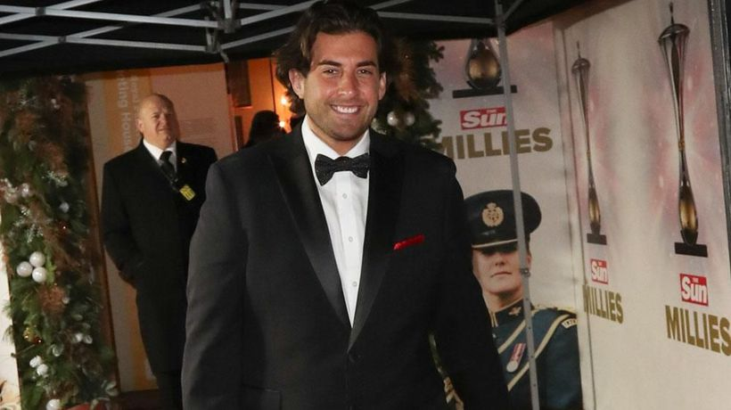 James Argent gets fitness tips from boxer Charlie Edwards