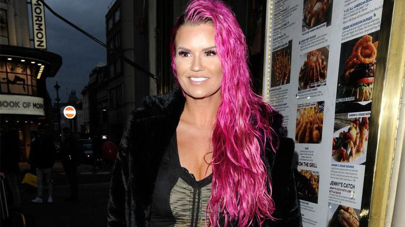 Kerry Katona wants to be a yoga instructor