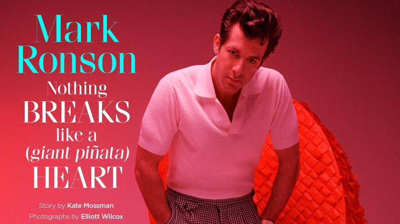 Mark Ronson was sent to therapy during mother's divorce