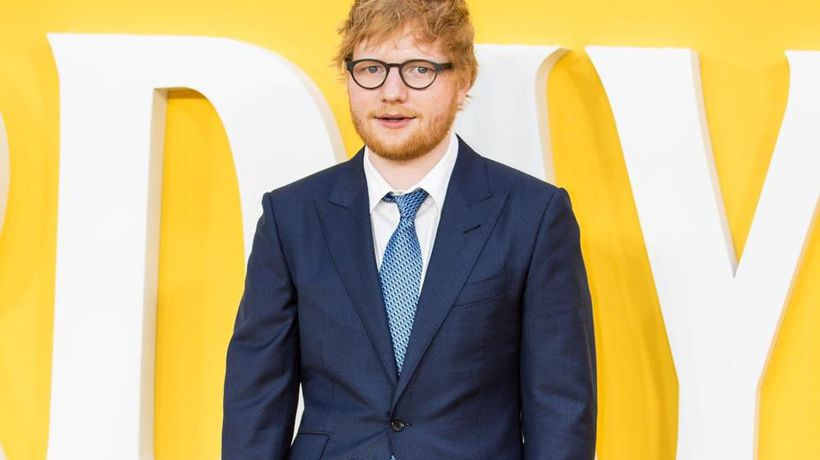 Ed Sheeran can keep signs for wife