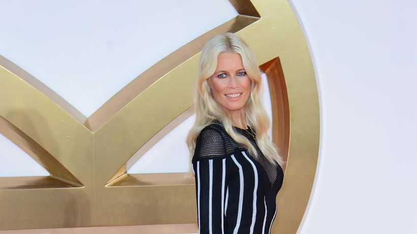 Claudia Schiffer hails late Karl Lagerfeld's 'creative process'