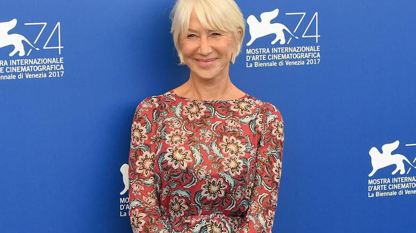 Dame Helen Mirren doesn't watch herself