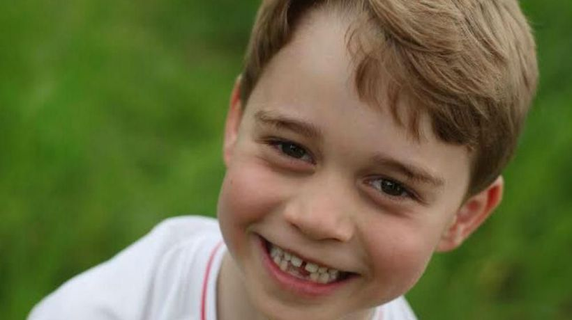 New pictures of Prince George released to celebrate 6th birthday