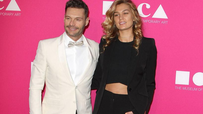 Ryan Seacrest and Shayna Taylor back on?