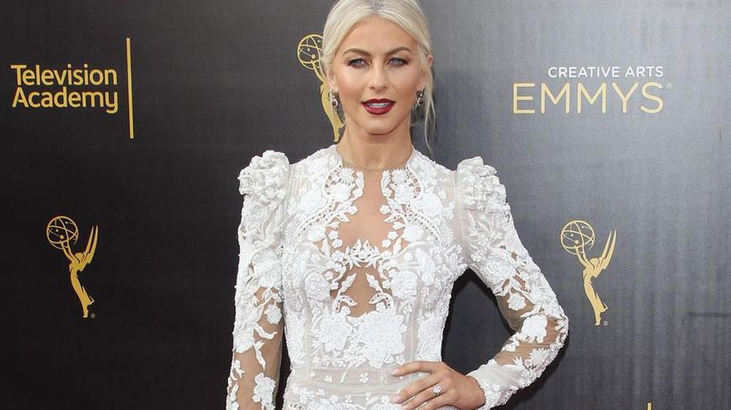 Julianne Hough feels 'lucky' for support after sexuality confession