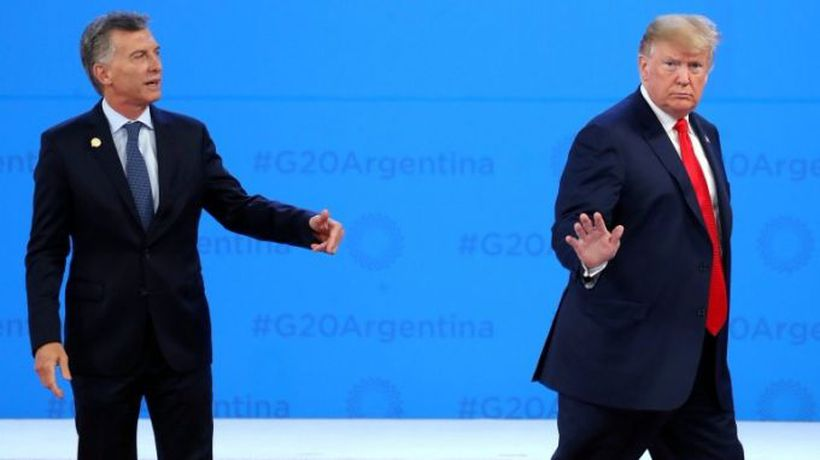 Trump leaves Argentine leader in the lurch