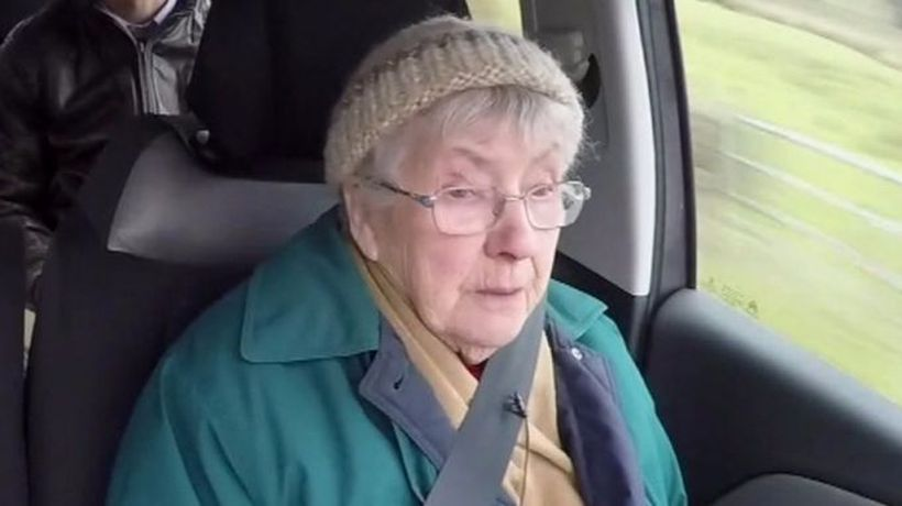 Lifeline helps a 92-year-old see her husband