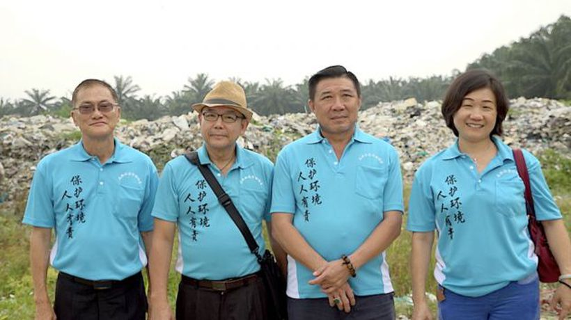 'We saved our town from your Western plastic rubbish'