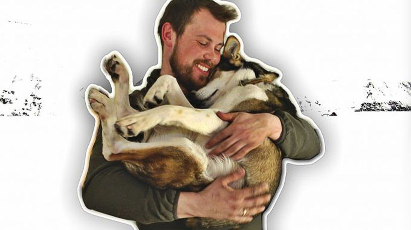 The man who lives with 110 dogs