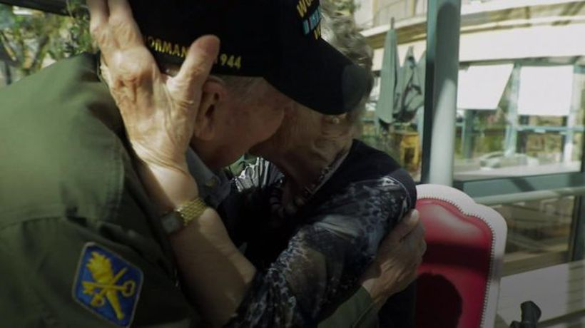 Reunited 75 years on from WW2
