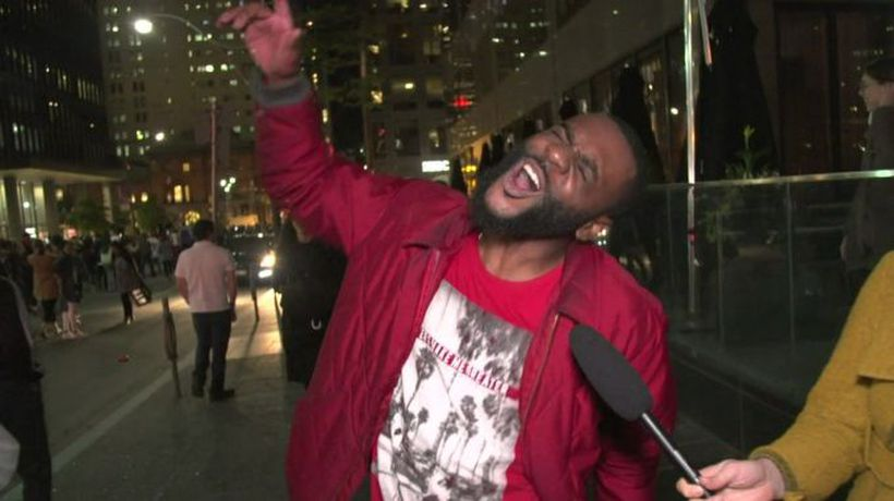 Toronto celebrates Raptors' NBA win