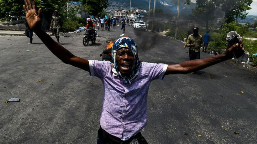 Why are there so many protests in Haiti?