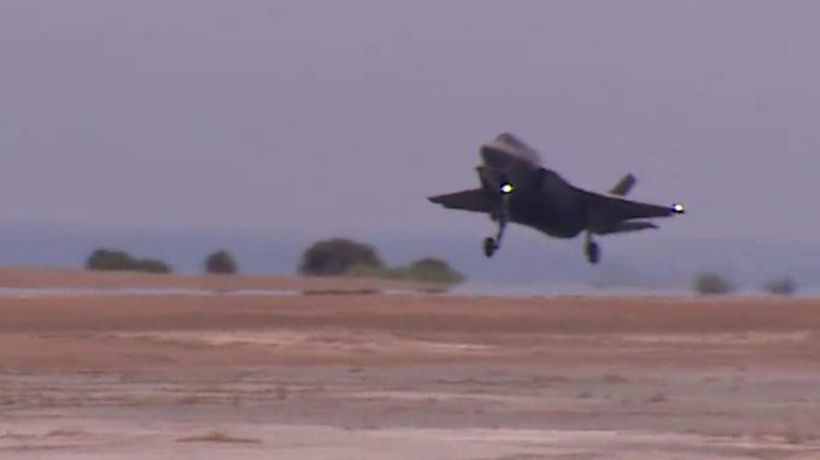 UK's F35 stealth jets fly first missions