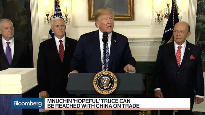 Bloomberg Markets: Middle East - Why Mnuchin Is 'Optimistic' on a China Trade Agreement