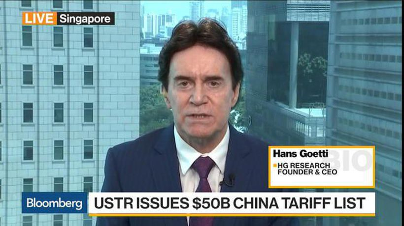 Bloomberg Markets: Middle East - HG Research Says Trade War Is Serious, U.S. Not Bluffing