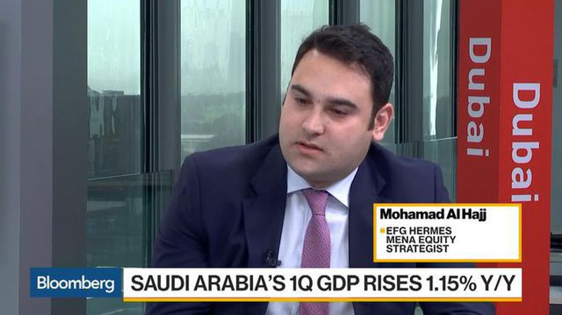 Bloomberg Markets: Middle East - Saudi Bank, Chemical, Telecom Stocks to Be 'Supported,' EFG-Hermes Says