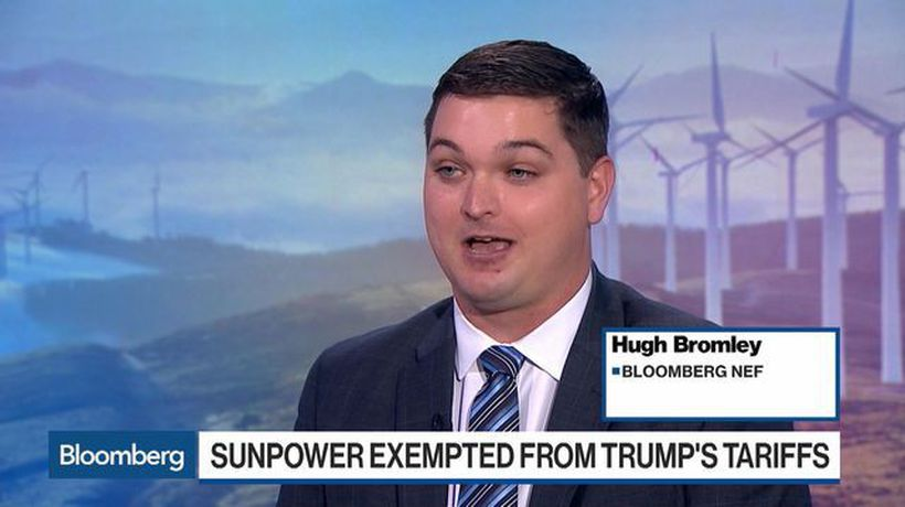 BNEF Brief: SunPower Wins Tariff Exemption