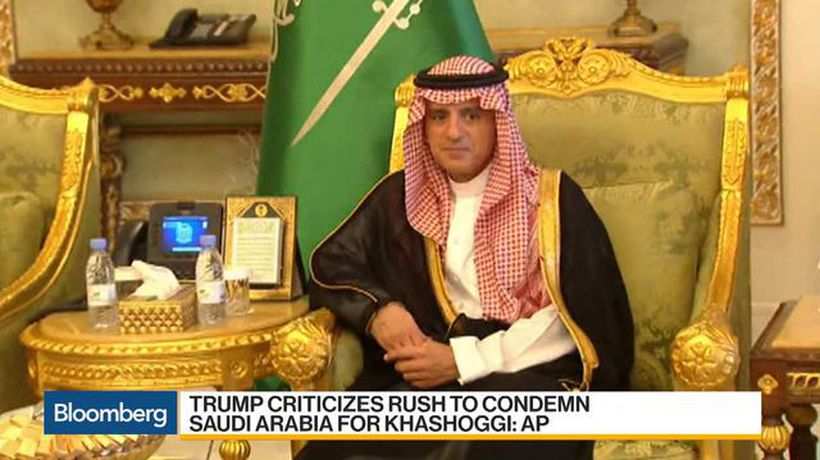 Bloomberg Daybreak: Asia - Trump Criticizes Rush to Condemn Saudi Arabia for Khashoggi: AP