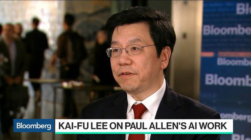Bloomberg Technology - Kai-Fu Lee 'Deeply Saddened' by the Death of Paul Allen