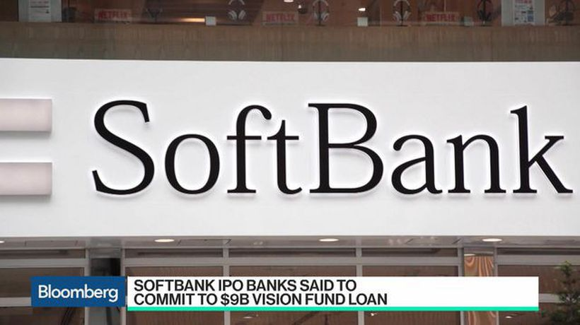 Bloomberg Technology - SoftBank IPO Banks Said to Commit to $9 Billion Vision Fund Loan