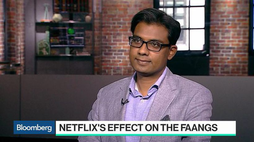 Bloomberg Technology - What Netflix's Forecast Signals for FAANG Stocks