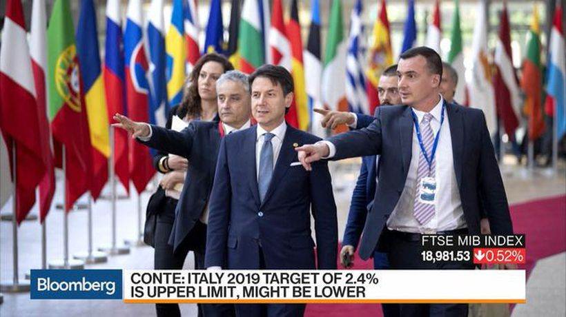 Bloomberg Markets - Italy Resists EU Budget Pressure on 'Necessary' Breach of Rules