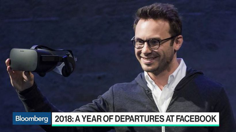 Bloomberg Technology - Oculus Founder Brendan Iribe to Depart Facebook