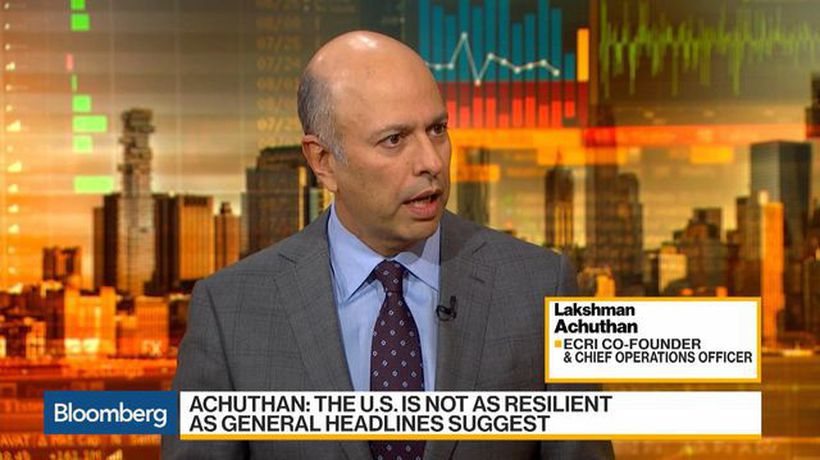 Bloomberg Daybreak: Asia - U.S. Not as Resilient as Headlines Suggest, Says Ecri's Achuthan