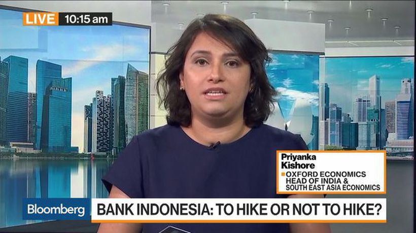 Bloomberg Markets: Asia - Bank Indonesia Likely to Leave Rates Steady, Oxford Economics Says